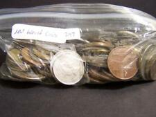 Grab Bag of (100) World Coins from Various Countries. Lot 297