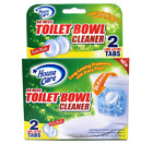House Care Toilet Bowl Cleaner Tabs with Bleach, 2 Ct.