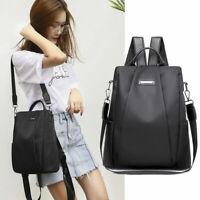 Women Anti-theft Oxford School Backpack Travel Waterproof Satchel Shoulder Bag