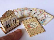 dolls house printie KIT-Dress Pattern Display & Fashion Plates Miniature 1/12th