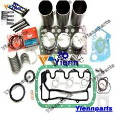 3LD1 Overhaul Rebuild Kit For ISUZU Engine DOOSAN DAEWOO SOLAR 035 Excavator set