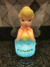 Tinkerbell Lamp by Disney Princess 120V Light included Blue Base Green Dress