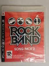 Rock Band Song Pack 2 PS3 Playstation Factory Sealed UK
