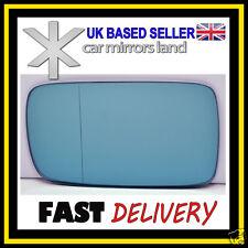 Left Passenger Mirror Glass Blue Wide Angle BMW 3 E46 98-05 BMW7 E65 E66 02-08