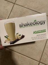 Shakeology Vegan Vanilla (24 packets) Best Before 11/2020 Still Sealed New!