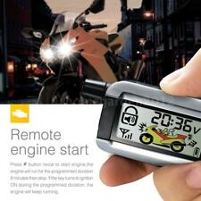 Steelmate 986XO 2 Way Motorcycle Alarm System Remote Control Engine Start P1D0