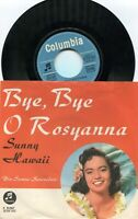 Single Samoa Serenaders: Bye Bye O Rosyanna (Columbia C 22 067) D 1961