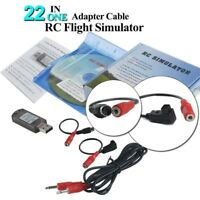 22 in 1 RC Flight Simulator Adapter Cable for G7 Phoenix 5.0 XTR VRC Transmitter