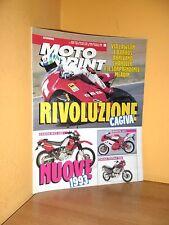 MotoSprint - n° 39 - 23/29 Settembre 1992 - Rivoluzione Cagiva - Rivista ottima