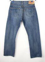 Levi's Strauss & Co Hommes 501 Jeans Jambe Droite Taille W34 L30 AVZ937