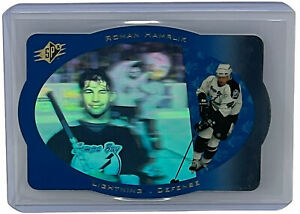 Roman Hamrlik 1996-97 Upper Deck SPx NHL Hockey Base Card Tampa Bay #42