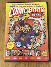 2004 Comic Book The Movie MARK HAMILL Hugh Hefner STAN LEE Kevin Smith DVD 2 Set