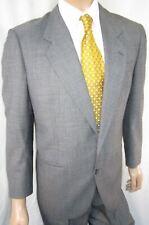 Vintage 40R 1990s NINO CERRUTI Rue Royale 2-Piece Suit - Men 40 Gray