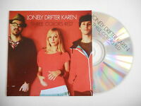 LONELY DRIFTER KAREN : THREE COLORS RED [ CD SINGLE ] ~ PORT GRATUIT