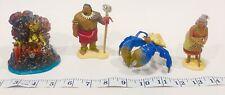 Disney Moana and family Movie Vinyl Figures Figurines Lot Set Of 4