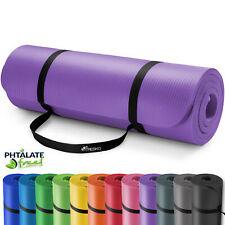 Yogamatte Fitnessmatte Gymnastikmatte Pilates Bodenmatte 185x60x1,5cm Lila