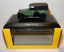 UH UNIVERSAL HOBBIES RENAULT NN 1927 POSTS POSITION PTT 1/43 IN LUXE BOX