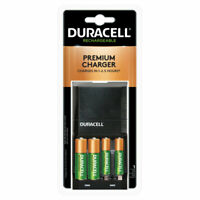 Duracell Ion Speed 4000 Battery Charger with AA/AAA NiMH Batteries