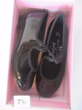 Tap Shoes Little Girls 7.5 Spotlights ABT Black Patent Leather