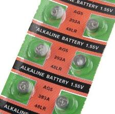 10X Batteries AG5 L754 LR48 393A SR48 Coin Button Cell Battery PC Watch camera