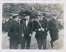 1935 French Police Search Field Chaumont Gabriel Soclay N Marescot Press Photo