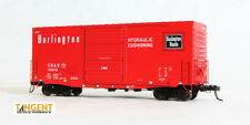 """Tangent CB&Q """"Chinese Red""""  PS-1 40' Hy-Cube Box Car (Assorted Car #'s) NIB RTR"""