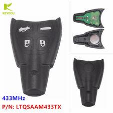 Remote Car Key Fob 433Mhz PCF7946AT for SAAB 9-3 9-5 2003-2009 FCC:LTQSAAM433TX