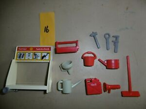 Playmobil accessories - Shell/Garage equipment