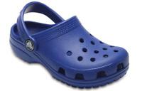 Younger Kids Boys Girls Classic Crocs Clogs in Blue Jean Beach Sandals C10 & C11