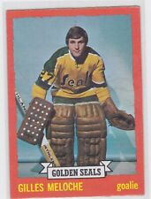 73/74 TOPPS...GILLES MELOCHE...CARD # 175...GOLDEN SEALS..FREE COMBINED SHIPPING