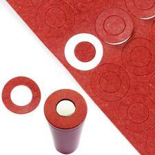 200 Stücke 18650 Batterie Isolator Isolierung Ring Kleber Pappe ER