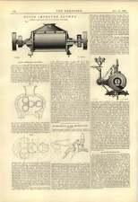 1888 SAMUELSON Banbury's Root migliorata Soffiatore Motore Sulzer