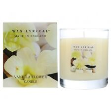 Vanilla Flower Boxed Jar Scented Fragrance Candle Made in England By Wax Lyrical