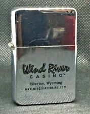 "Touchlite ""Wind River Casino"" Advertising Lighter Riverton Wyoming VG+"