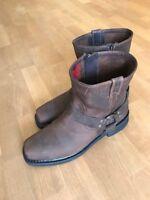 Harley Davidson El Paso Herren Stiefel/ Boots/ Stiefletten braun