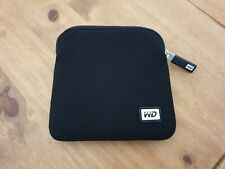 NEW WD My Passport PRO Neoprene Carrying Case Genuine WD UK **Western Digital**