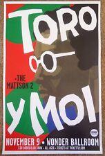 Toro Y Moi 2016 Gig Poster Portland Oregon Concert Chaz Bundick