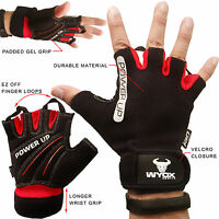 WYOX Sports Racing Cycling Motorcycle MTB Bike Bicycle Gel Half Finger Gloves