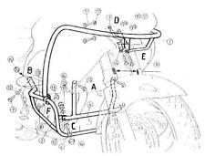 Hepco & Becker Motorschutzbügel Sturzbügel 501122 00 01 Honda NT 650 V Deauville