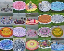 "50 Assorted Wholesale Indian Round Mandala Beach Tapestry Towel Yoga Mat 49"""