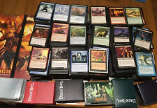 Magic the Gathering Large Lot Collection Mtg over 4500 cards With Boxes Binder