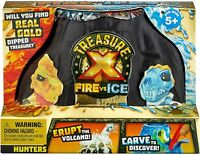 NEW FACTORY SEALED Treasure X Fire vs Ice HUNTERS Excavation Surprise Pack