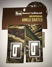 Banded Neoprene Ankle Garters Waders Bicycle Pants Chain Guard MAX 5 CAMO NEW!