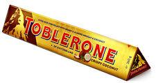 Giant Toblerone Crispy Coconut 360g Milk Chocolate Bar Father's Day Gift Treat