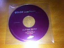Impresora láser color CLP-510 controlador de la impresora y guía del usuario CD de x2
