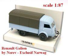 Renault Galion 2,5t camion bâché bleu clair - Norev - Echelle 1/87 - Ho