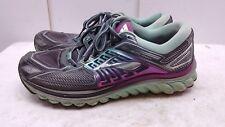 Brooks Glycerin G13 Women Grey Purple Mesh Athletic Lace Sneaker Shoe 11.5M 42.5