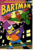 BARTMAN #2 NM BONGO COMICS bart simpson 1994 matt groening the simpsons rare