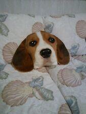 Cute Beagle Puppy Plush Throw Pillow Realistic Expressions Dog Cushion Decor