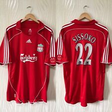 LIVERPOOL 2006 2008 HOME FOOTBALL SHIRT SOCCER JERSEY ADIDAS # 22 SISSOKO